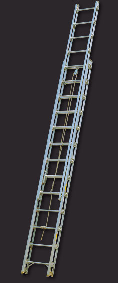 Aluminum Truss stylr fire ladders. Similiar to Duo fire ladders